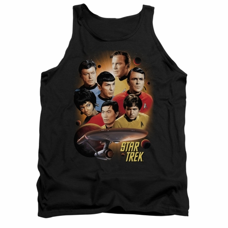 Star Trek Heart of Enterprise Tank Top