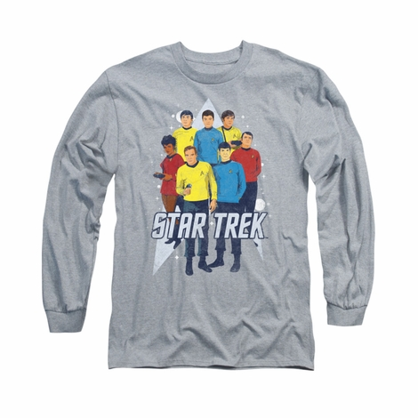 Star Trek Here Here Long Sleeve T Shirt