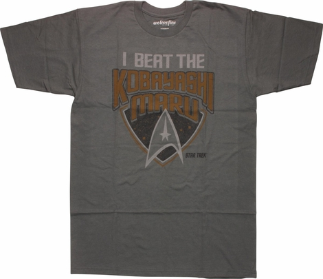Star Trek I Beat Kobayashi Maru T-Shirt