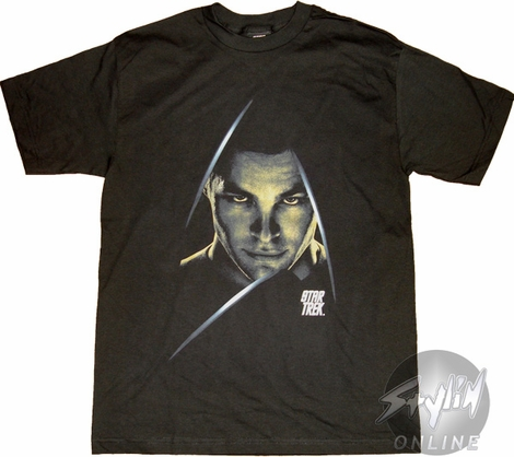 Star Trek Kirk Color T-Shirt