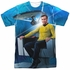 Star Trek Kirk Enterprise Sublimated T Shirt
