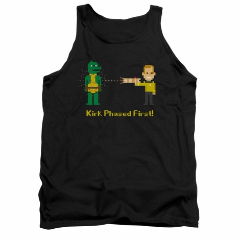Star Trek Kirk Phased First Tank Top