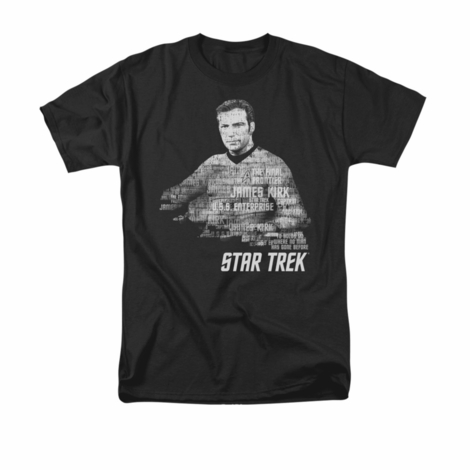 Star Trek Kirk Words T Shirt