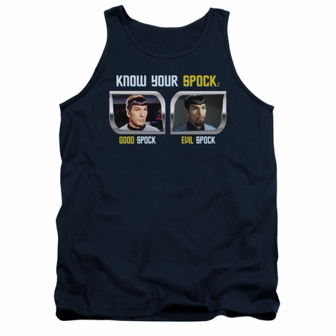 Star Trek Know Your Spock Tank Top