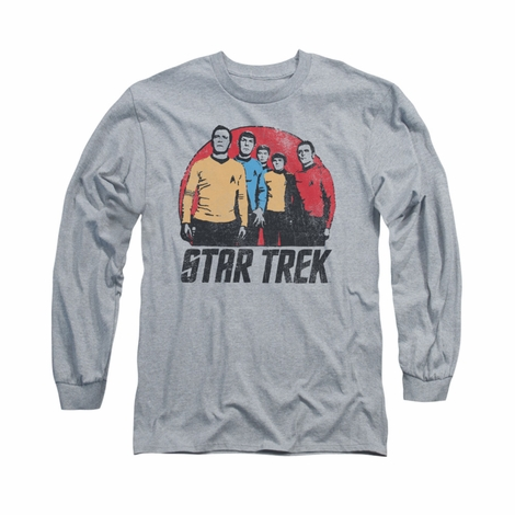 Star Trek Landing Party Long Sleeve T Shirt