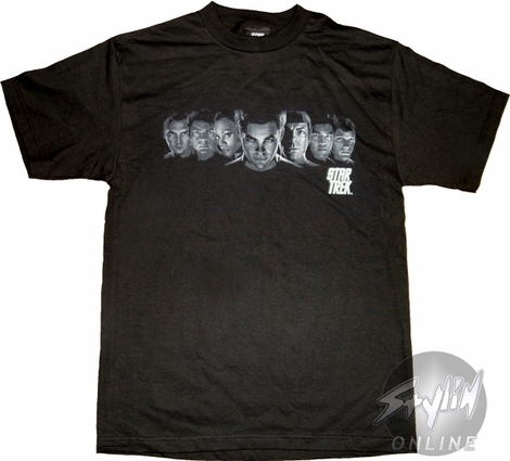 Star Trek Lineup T-Shirt