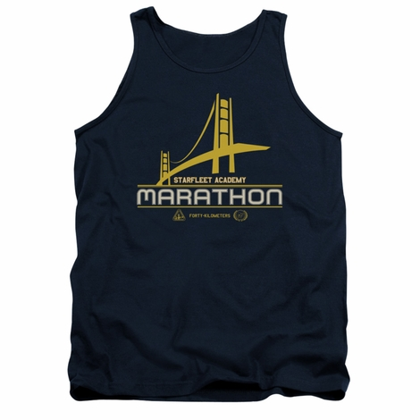 Star Trek Marathon Logo Tank Top