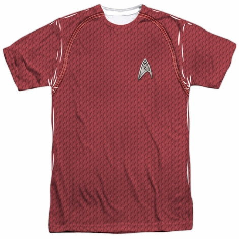 Star Trek Movie Engineer Sublimated T Shirt