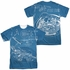 Star Trek Multi Plans FB Sublimated T Shirt