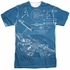 Star Trek Multi Plans Sublimated T Shirt