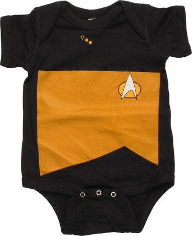 Star Trek Next Generation Operations Snap Suit