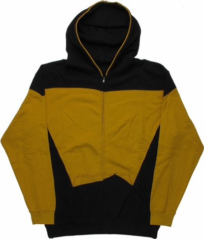 Star Trek Next Generation Operations Uniform Hoodie
