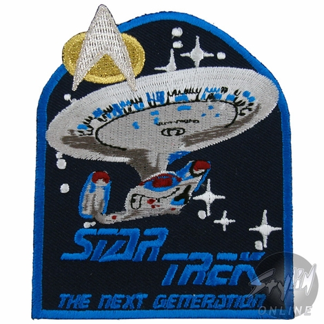 Star Trek Next Generation Patch