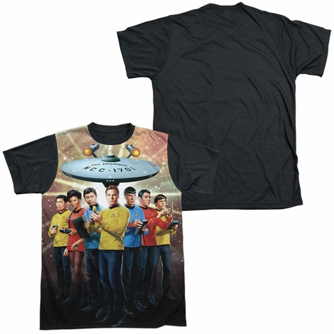 Star Trek Original Crew BB Sublimated T Shirt