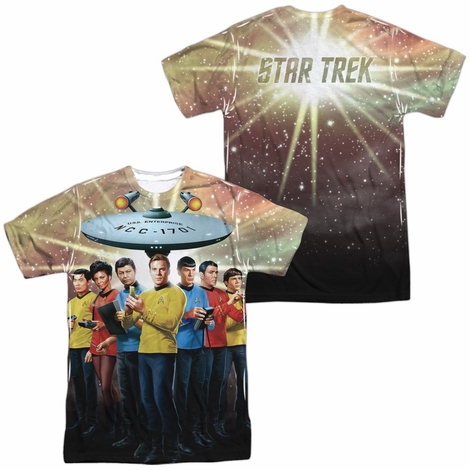 Star Trek Original Crew FB Sublimated T Shirt