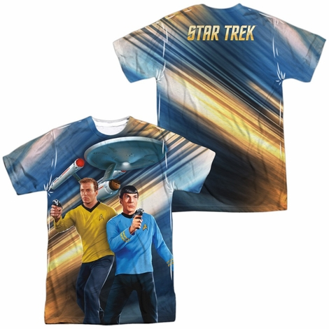 Star Trek Phasers Down FB Sublimated T Shirt
