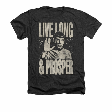 Star Trek Prosper Heather T Shirt