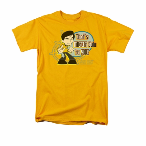 Star Trek Quogs Mr Sulu To You T Shirt