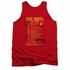 Star Trek Red Shirt Tour Tank Top