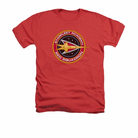 Star Trek Red Squadron Heather T Shirt