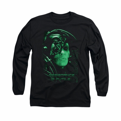 Star Trek Resistance Is Futile Long Sleeve T Shirt