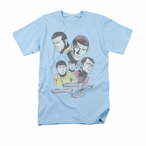 Star Trek Retro Crew T Shirt