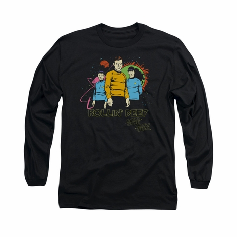 Star Trek Rollin Deep Long Sleeve T Shirt