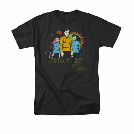 Star Trek Rollin Deep T Shirt