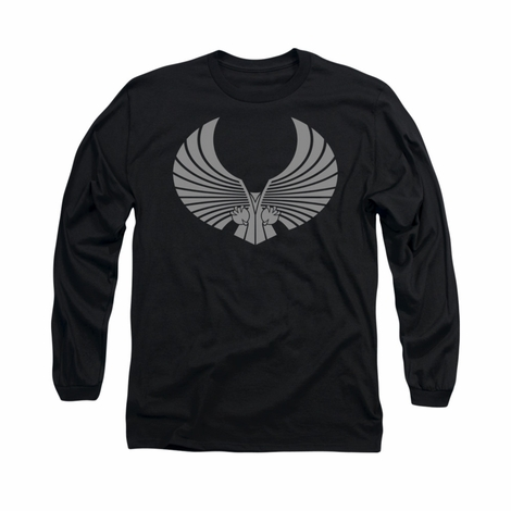 Star Trek Romulan Logo Long Sleeve T Shirt