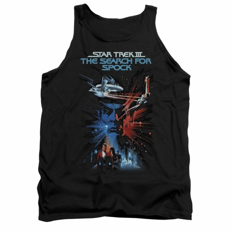 Star Trek Search for Spock Tank Top