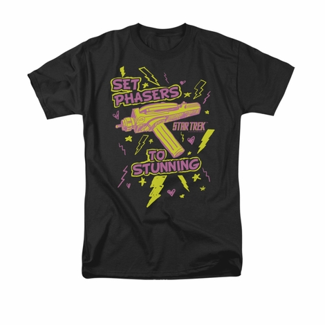 Star Trek Set Phasers T Shirt
