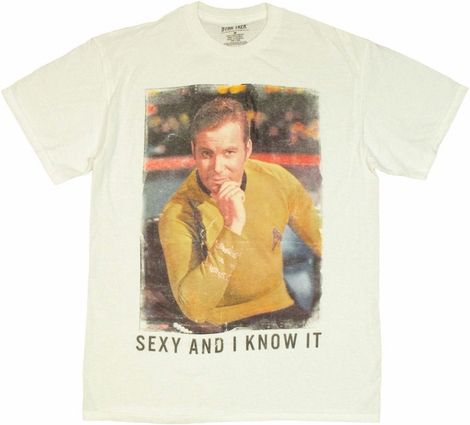 Star Trek Sexy Know It T Shirt