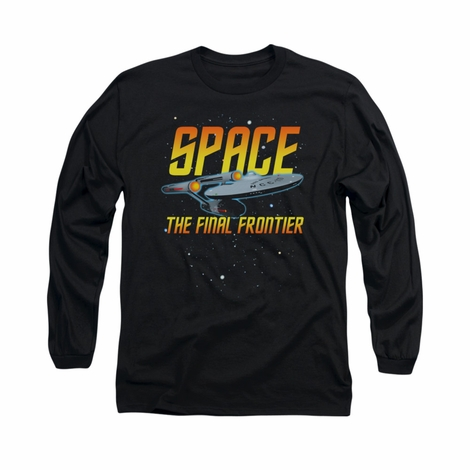 Star Trek Space Long Sleeve T Shirt