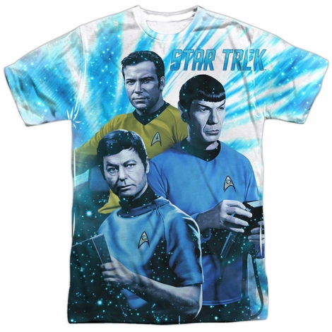 Star Trek Space Shadows Sublimated T Shirt