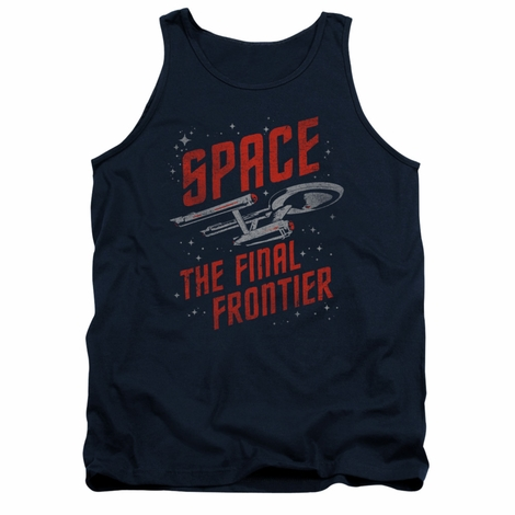 Star Trek Space Travel Tank Top