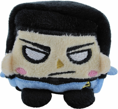 Star Trek Spock Kawaii Cube Plush