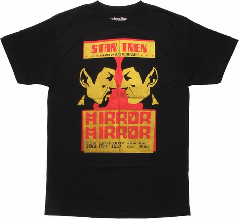 Star Trek Spock Mirror Mirror Poster MF T-Shirt