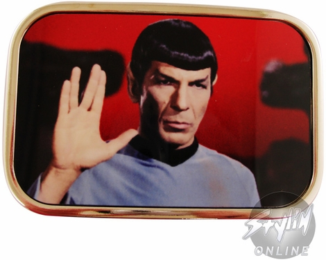 Star Trek Spock Salute Buckle