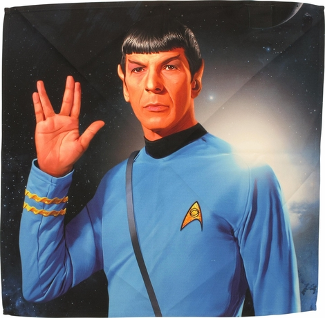 Star Trek Spock Salute Sublimated Bandana