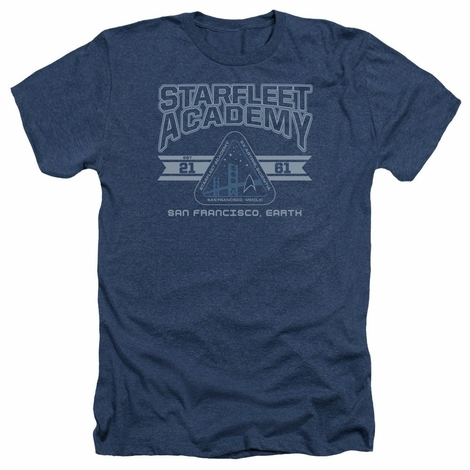 Star Trek Starfleet Acad 2161 Heather T Shirt