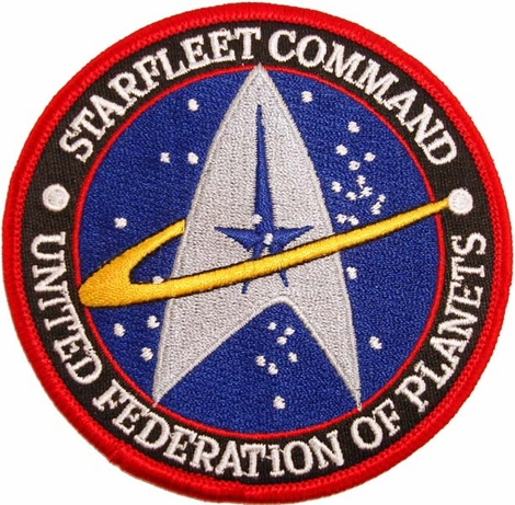 Star Trek Starfleet Patch
