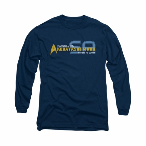 Star Trek Survived Kobayashi Long Sleeve T Shirt