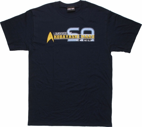 Star Trek Survived Kobayashi Maru T Shirt