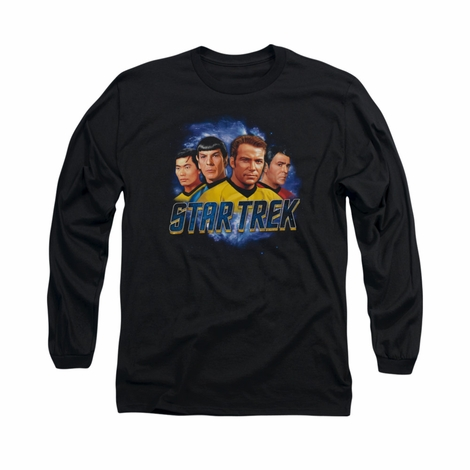Star Trek The Boys Long Sleeve T Shirt