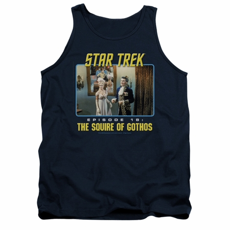 Star Trek The Squire Of Gothos Tank Top