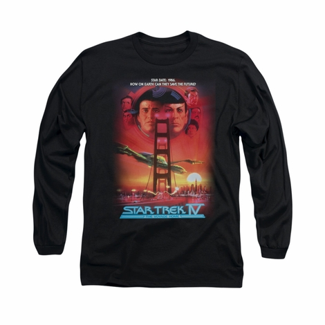 Star Trek The Voyage Home Long Sleeve T Shirt