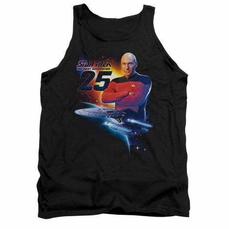 Star Trek TNG 25 Picard Tank Top