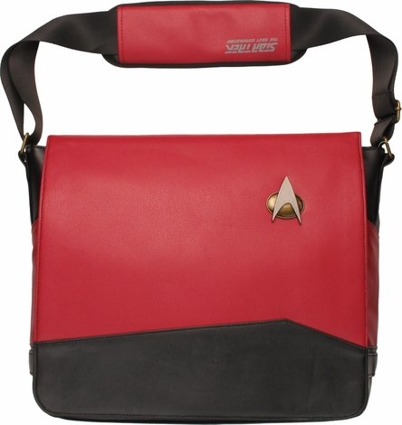 Star Trek TNG Command Uniform Messenger Bag