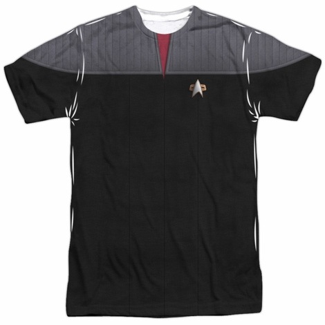 Star Trek TNG Film Command Sublimated T Shirt
