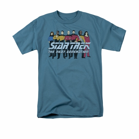 Star Trek TNG Line Up T Shirt